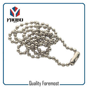 Stainless Steel Bead Chain For Sale