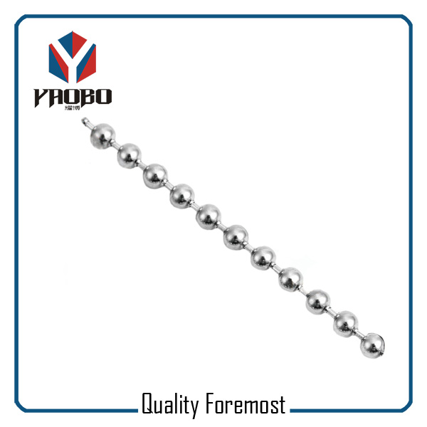 Stainless Steel Bead Chain For Men