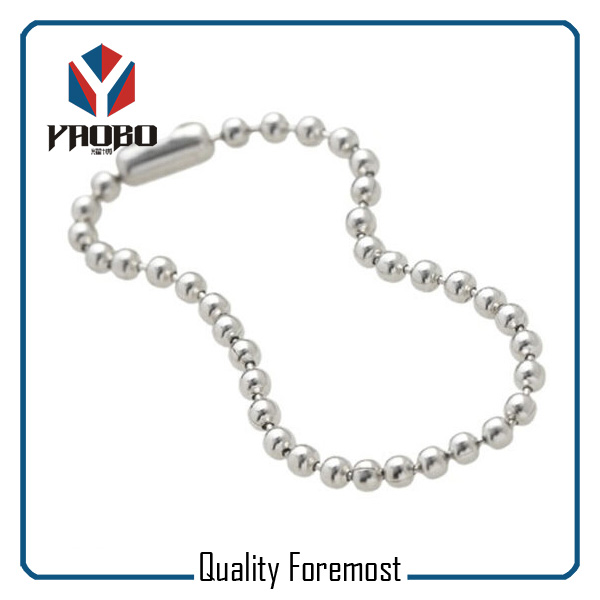 Stainless Steel Silver Bead Chain