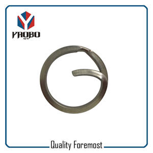 Durable G Shape Split Ring,G Shape Split Key Ring