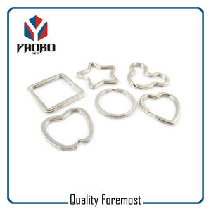 Wholesale Shaped Split Ring,iron shaped split ring