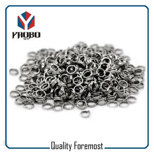 Stainless Steel Heavy Duty Split Rings,supplier heavy Duty key Rings