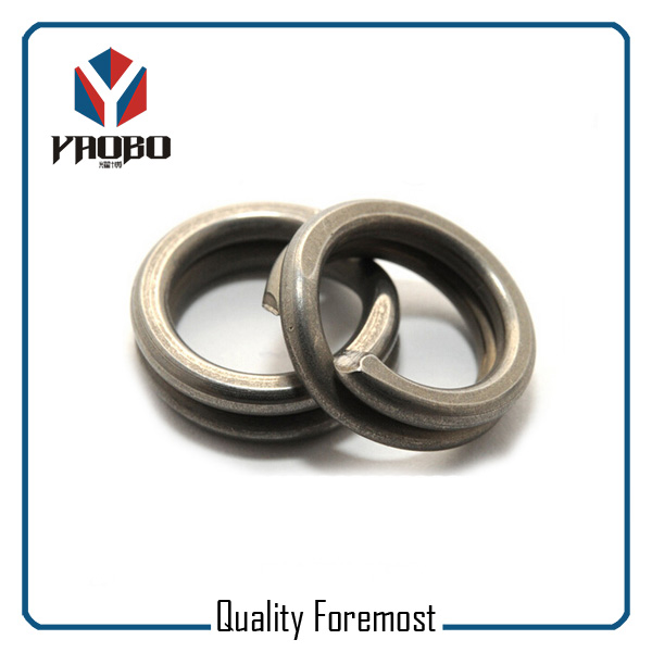 Durable Stainless Steel Split Rings