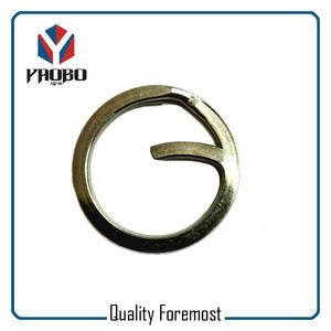 Heavy Duty G Shape Split Ring,Heavy Duty Fishing Rings