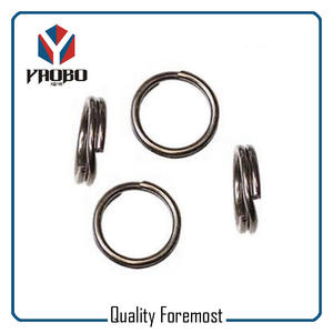 Heavy Duty Double Ring For Fishing,Heavy Duty Double Ring
