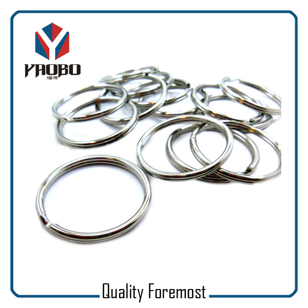 High Quality Silver Split Rings