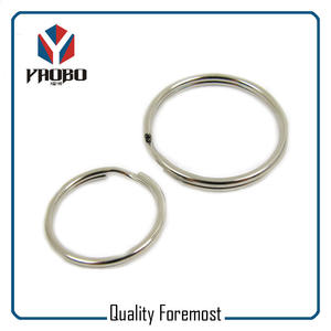 Silver 25mm Split Rings,silver key ring,iron silver split ring