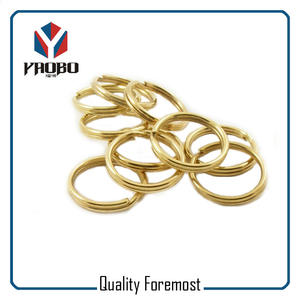 Gold Split Rings Bulk,gold Split Rings,metal gold split ring