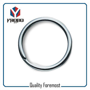 Chrome Color Split Ring,chrome Split Rings Bulk,metal split ring