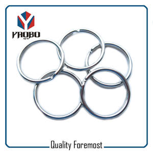 30mm Chrome Split Ring,Iron chrome key ring,