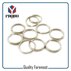 Split Ring Key Ring Bulk,metal split key ring,silver iron split ring