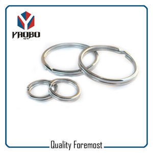 Silver Split Ring Bulk,metal split key ring,silver iron split ring