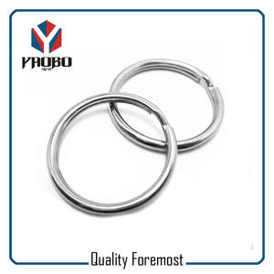 Best Price Stainless Steel Split Ring,Best Price Stainless Steel Key Ring
