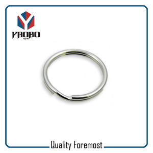 Polished Stainless Steel Split Ring