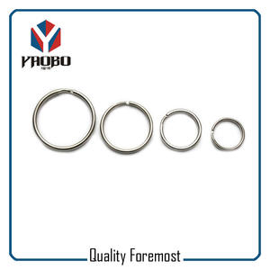 Polished Stainless Steel Key Ring,Polished Stainless Steel Split Ring