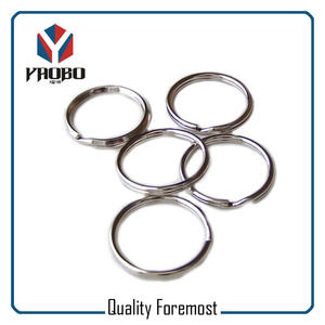 Stainless Steel Split O Ring,Polished Stainless Steel Split Key Ring
