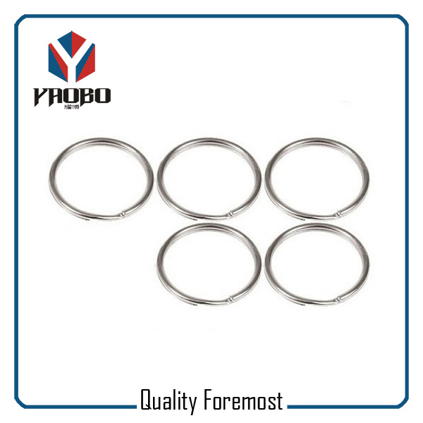 Stainless Steel Split Round Ring