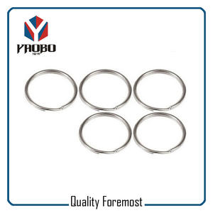 Stainless Steel Split Round Ring,Stainless Steel Split O Ring