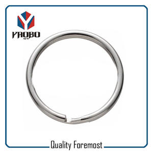High Qulaity Stainless Steel Split Ring,Stainless Steel Split Round Ring
