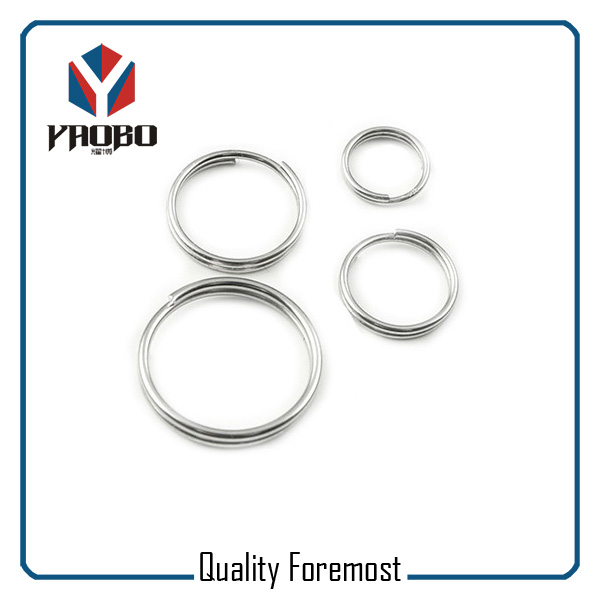 Stainless Steel Double Ring