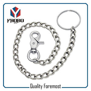 Keychain Wish Snap Hook,silver key ring with chains