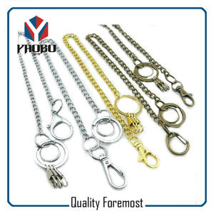 Snap Hook With Chain For Key,split ring with snap hook for key