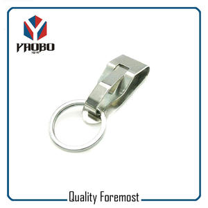 Metal Buckles With Split Ring,metal clips with key ring