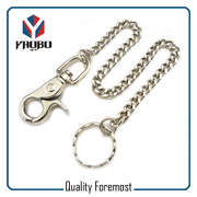 Split Ring With Snap Hook For Keychain