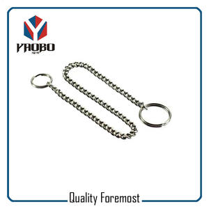 Split Ring With Chain For Bags,Split Ring With Curb Chain for man