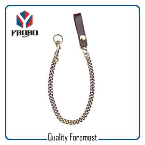 Snap With Chain For Men,snap hook with curb chain for key