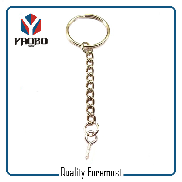 Keychain With Screw For Tags