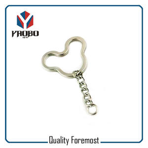 Shaped Key Chain Key Ring,mickey Shape Key Chain Key Ring