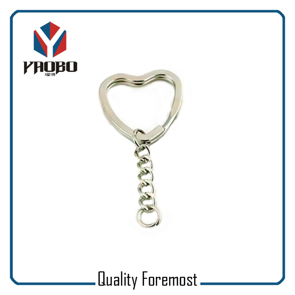 Heart Shaped Key Chain