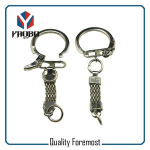 Key Ring With Chains,silver key ring with chain