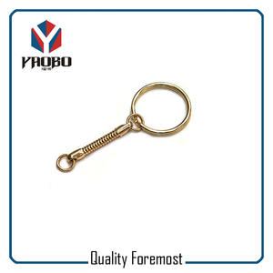 Gold Key Ring With Snak Chain,Gold Key Ring Snak Chain