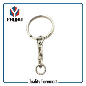 Split Ring With O Shape Chain,Split Key Ring With O chains