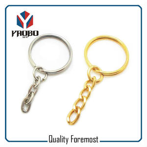 Gold Key Chain Silver Key Chain,keychains with o ring