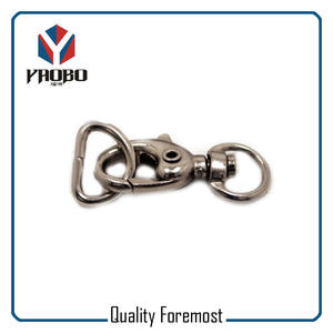 Gunmetal Snap Hook Wish D Ring,Gunmetal small snap hook with D ring
