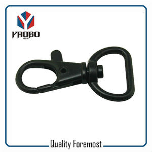 Black 20mm Snap Hook