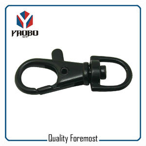 Black 10mm Snap Hook,Black 10mm Snap Hook