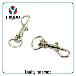 Metal Single Hook,metal swivel hook,silver swivel snap hook