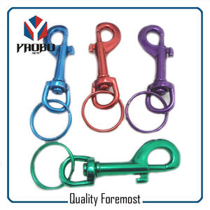 Colored Snap Hooks,colored Snap Hook with spli ring