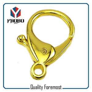 Lobster Clasp Snap Hook Swivel,big lobser gold color