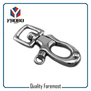 Trigger Clasp Swivel Ring Hook,Swivel clasp snap hook