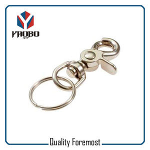 Swivel Snap Hook With Key Ring,trigger Snap Hook with key ring