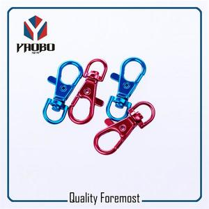 Colored Clasp Swivel Snap Hook