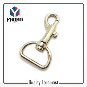 Supplier Swivel Hook Snap Hook,Silver Clasp Snap Hook