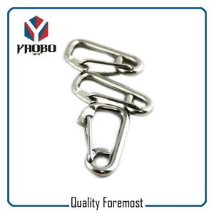 Wire Gate Stainless Steel Snap Hook,Spring Stainless Steel Snap Hook