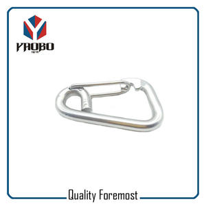 80mm Wire Gate Stainless Steel Hook,Wire Gate Carabiner Hook