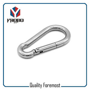 Stainless Steel Carabiner Snap Hook,stainless steel snap hook